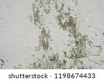 peeling painted wall background. | Shutterstock . vector #1198674433