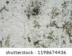 peeling painted wall background. | Shutterstock . vector #1198674436