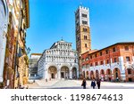lucca  italy   april 30  2013 ... | Shutterstock . vector #1198674613