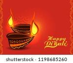 vector illustration or greeting ... | Shutterstock .eps vector #1198685260