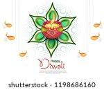 vector illustration or greeting ...   Shutterstock .eps vector #1198686160