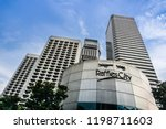 singapore   oct 7  2018 ... | Shutterstock . vector #1198711603