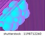 background with colorful... | Shutterstock .eps vector #1198712260