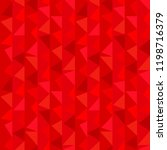 red geometric  texture... | Shutterstock .eps vector #1198716379