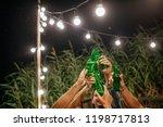 hands of group of... | Shutterstock . vector #1198717813