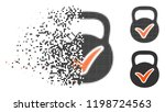 valid mass icon in disappearing ...   Shutterstock .eps vector #1198724563