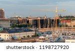 tallin  estonia   24 july 2018  ... | Shutterstock . vector #1198727920