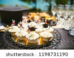party table graduation... | Shutterstock . vector #1198731190