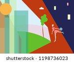 abstract vector illustration of ...   Shutterstock .eps vector #1198736023