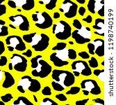vector illustration leopard... | Shutterstock .eps vector #1198740199
