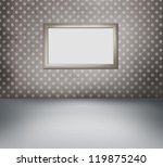 interior of vintage room with... | Shutterstock . vector #119875240