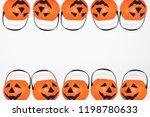 jack o' lantern halloween... | Shutterstock . vector #1198780633
