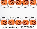 jack o' lantern halloween... | Shutterstock . vector #1198780780