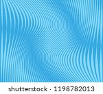 blue background with lines of...   Shutterstock .eps vector #1198782013