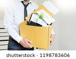 businessmen are holding... | Shutterstock . vector #1198783606