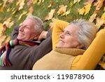 Portrait Of A Cute Older Couple ...