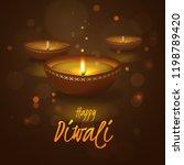 vector festive illustration for ... | Shutterstock .eps vector #1198789420