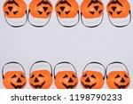 jack o' lantern halloween... | Shutterstock . vector #1198790233