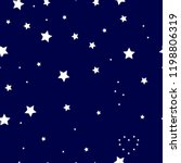 star pattern. dark blue... | Shutterstock .eps vector #1198806319