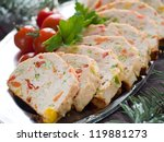 Chicken Meatloaf With...