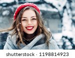 outdoor close up portrait of... | Shutterstock . vector #1198814923