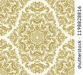 orient vector classic pattern....   Shutterstock .eps vector #1198828816