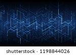 technology background. binary... | Shutterstock .eps vector #1198844026