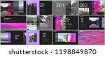 travel concept presentations... | Shutterstock .eps vector #1198849870