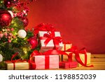 christmas holiday background | Shutterstock . vector #1198852039
