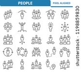 people icons. professional ...   Shutterstock .eps vector #1198859830