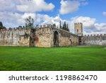 pisa city walls  erected in... | Shutterstock . vector #1198862470