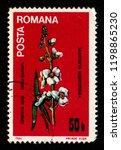 romania   circa 1984  a postage ... | Shutterstock . vector #1198865230