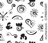 aztecs seamless pattern  paper...   Shutterstock .eps vector #1198865689