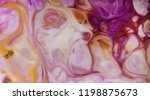 marble background  ink on... | Shutterstock . vector #1198875673