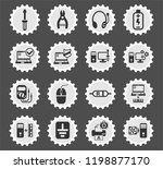 computer repair web icons... | Shutterstock .eps vector #1198877170
