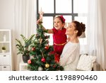 family  winter holidays and... | Shutterstock . vector #1198890460