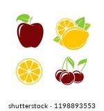 fruit. vector illustration | Shutterstock .eps vector #1198893553