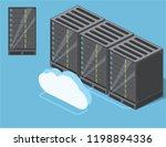 hardware isometric equipment.... | Shutterstock .eps vector #1198894336