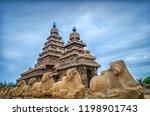 seashore temple located in... | Shutterstock . vector #1198901743