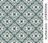 oriental traditional pattern.... | Shutterstock .eps vector #1198905046