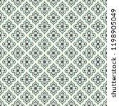 oriental traditional pattern.... | Shutterstock .eps vector #1198905049