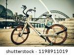 newcastle upon tyne  england ... | Shutterstock . vector #1198911019