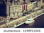 newcastle upon tyne  england ... | Shutterstock . vector #1198911043