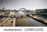 newcastle upon tyne  england ... | Shutterstock . vector #1198911070