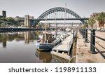 newcastle upon tyne  england ... | Shutterstock . vector #1198911133