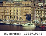 newcastle upon tyne  england ... | Shutterstock . vector #1198919143