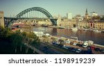 gateshead  england  uk   may 08 ... | Shutterstock . vector #1198919239
