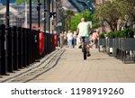 newcastle upon tyne  england ... | Shutterstock . vector #1198919260