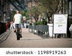 newcastle upon tyne  england ... | Shutterstock . vector #1198919263