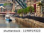 newcastle upon tyne  england ... | Shutterstock . vector #1198919323